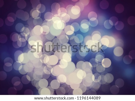 Abstract glowing light bokeh blurry background #1196144089