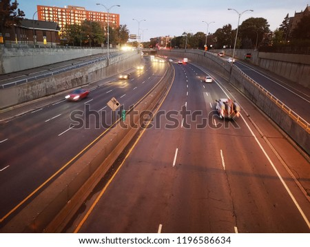 Trafic cars highway #1196586634