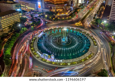 Jakarta officially the Special Capital Region of Jakarta, is the capital of Indonesia. Jakarta is the center of economics, culture and politics of Indonesia.  #1196606197