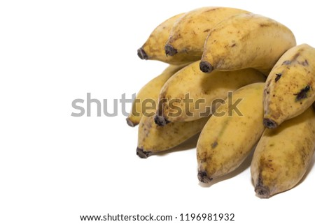 bananas on white background  #1196981932