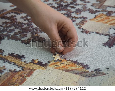 the old man who tried to combine the puzzle #1197294112