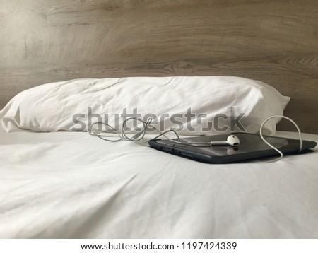 Lazy Morning with IPAD #1197424339