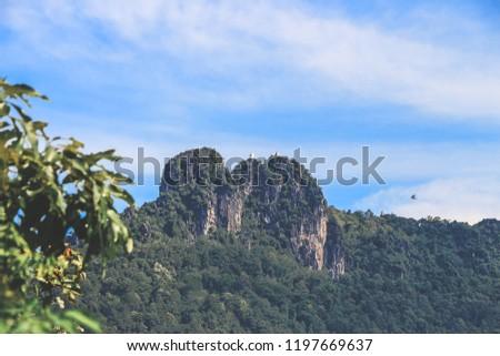 Hilltop in Thailand #1197669637