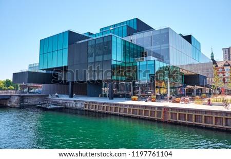Denmark, Copenhagen - Jule 2, 2018: Danish Architecture Centre #1197761104