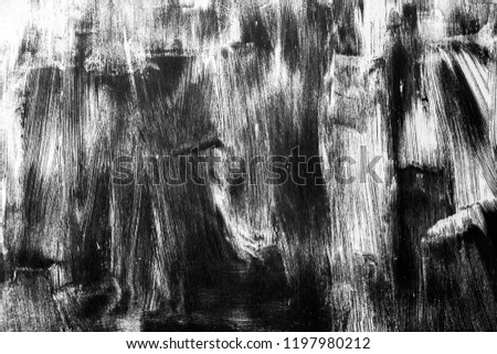 Rusty surface with scratches black and white texture background #1197980212