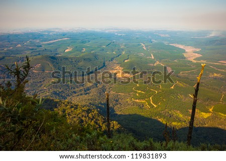 View from God's Window, Mpumalanga, South Africa