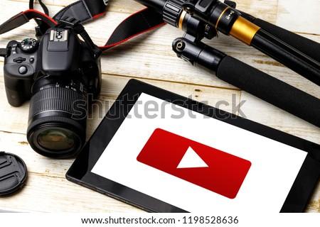 shoot a video #1198528636