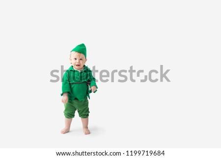 Baby dress up in Halloween Costume