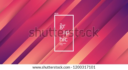 Minimal geometric background with gradient colors. Eps10 vector.