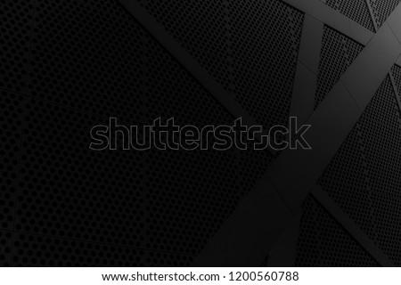 Black background. Photo. Geometric wallpaper. backround