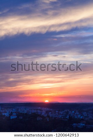 Sunset, Colorful Sky,  #1200642913