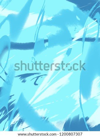 Abstract color painting background. Ink pattern illustration. Contemporary and modern texture. Creative and artistic wallpaper. Artistic wall with brushed shapes design. Urban Grunge. #1200807307