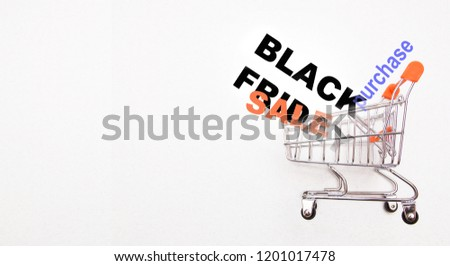 shopping concept discount sale on white background