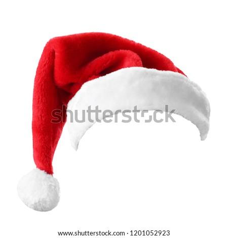 Red Santa hat or cap #1201052923