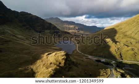 Rest And Be Thankful - Scottish Landscape #1201349599