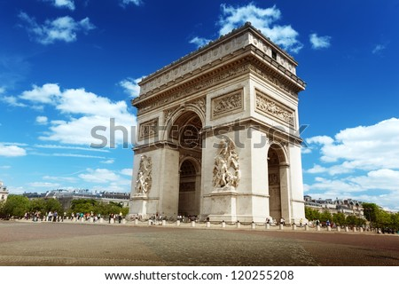 Arc de Triumph, Paris #120255208