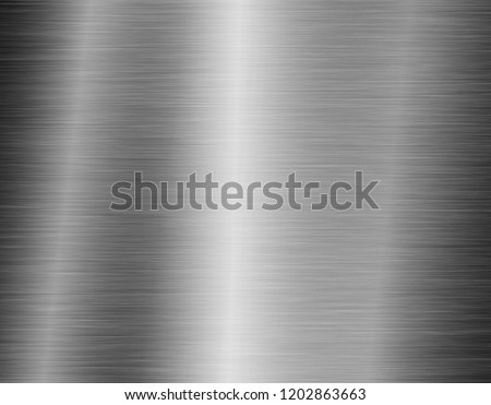 texture metal background of brushed steel plate #1202863663