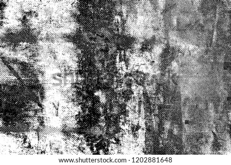 Abstract background. Monochrome texture. Image includes a effect the black and white tones. #1202881648