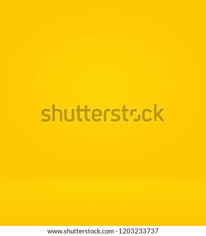 Abstract Luxury Gold yellow gradient studio wall, well use as background,layout,banner and product presentation. #1203233737