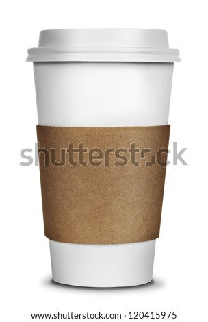 Coffee Cup Isolated #120415975