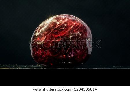 garnet gem stone #1204305814