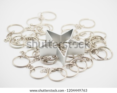 Star shape for decoration,star shape christmas #1204449763