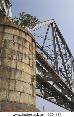 frustum and bridge #1204687