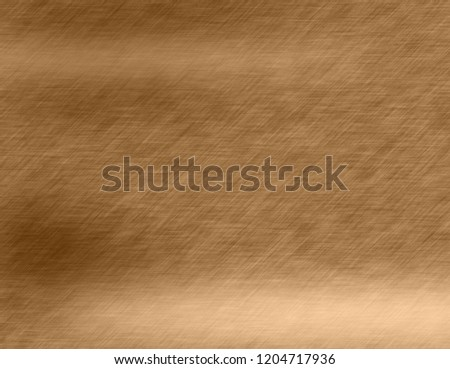 Abstract Gold metal brushed background or texture #1204717936