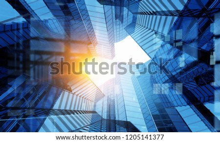 Business center background #1205141377