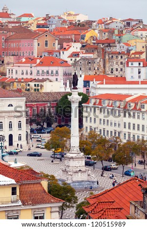 View of Lisbon from above #120515989