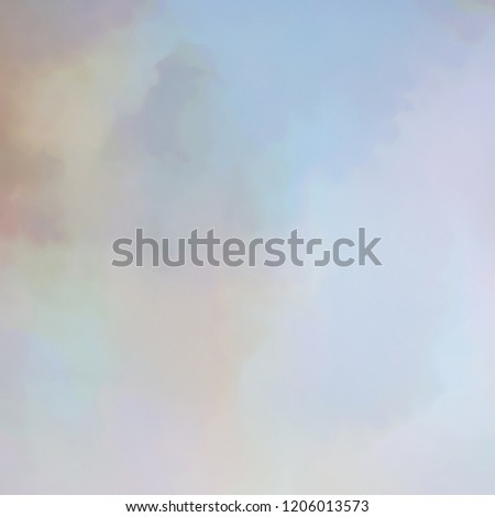 Soft color abstract background for design. Clouds texture effect in a gradient wall. Artistic conceptual wallpaper. #1206013573