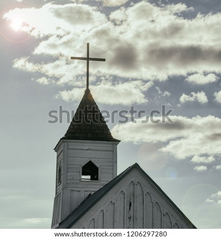 Church religion concept image