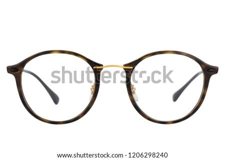 Eye glasses isolated on white background  #1206298240