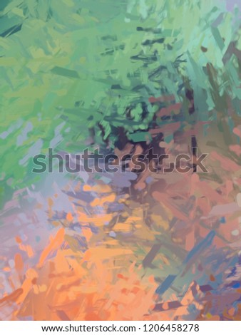 Brushed Painted Abstract Background. Brush stroked painting. #1206458278