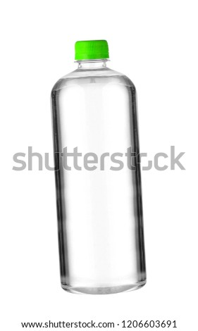 A bottle of water isolated on white background #1206603691