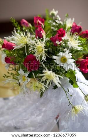 Beautiful flower wedding decoration #1206677059