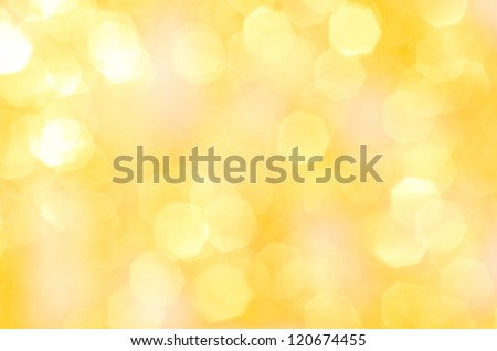 Abstract background of holiday lights #120674455