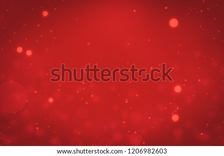 Christmas background red. Abstract valentine romance.