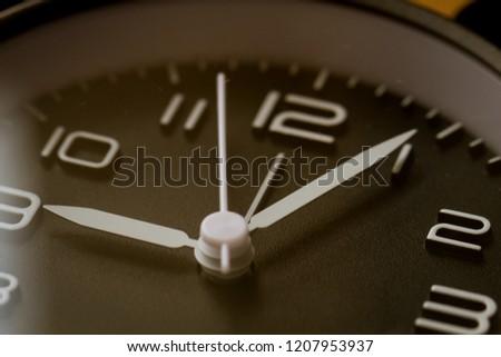 Time accumulation, alarm clock close up #1207953937