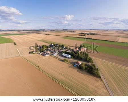 View of Estouches, Essonne, Ile-de-france, France #1208053189