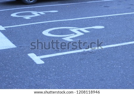disabled parking spaces #1208118946