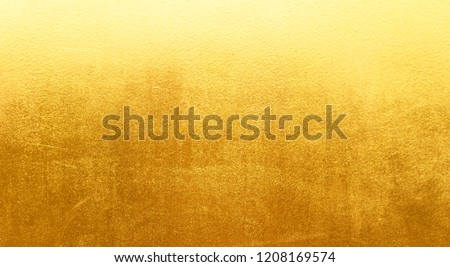 Gold background or texture metal texture steel plate #1208169574