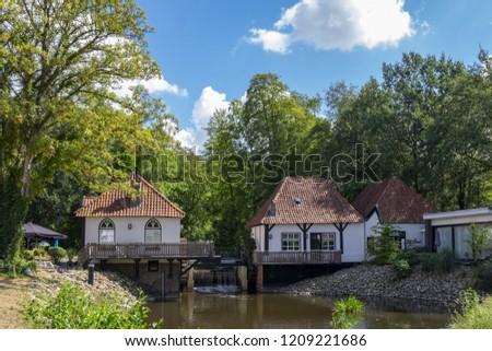 water mill Den Helder, Winterswijk, holland #1209221686