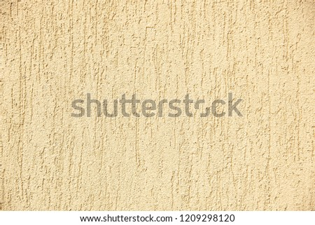 Yellow cement wall background material #1209298120