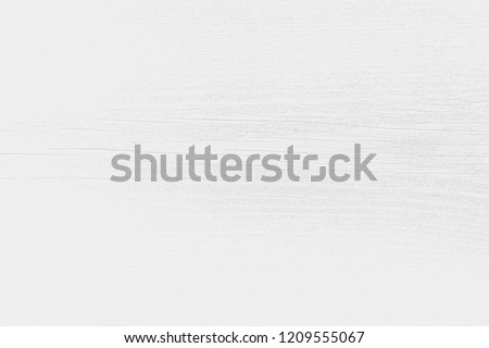 White wood texture background of distressed pine grain. Light soft natural wooden texture wallpaper.  White wooden table or cutting board top view. #1209555067