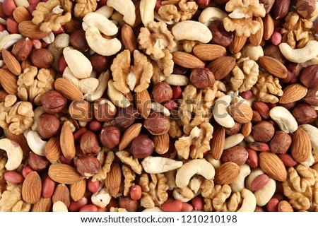 different nuts in a heap #1210210198