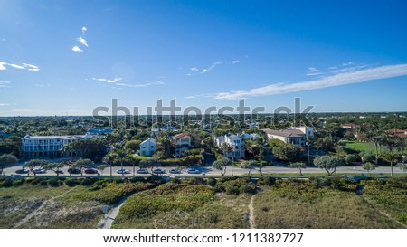 Aerial View from Fort Lauderdale, Florida #1211382727