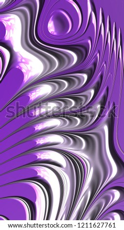 Abstract textured swirl pattern. Bold, colorful 3D illustration. #1211627761