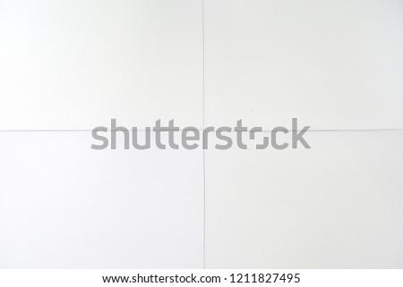 White vinyl tile flooring texture background #1211827495