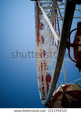 Shining ferris wheel #1211942521
